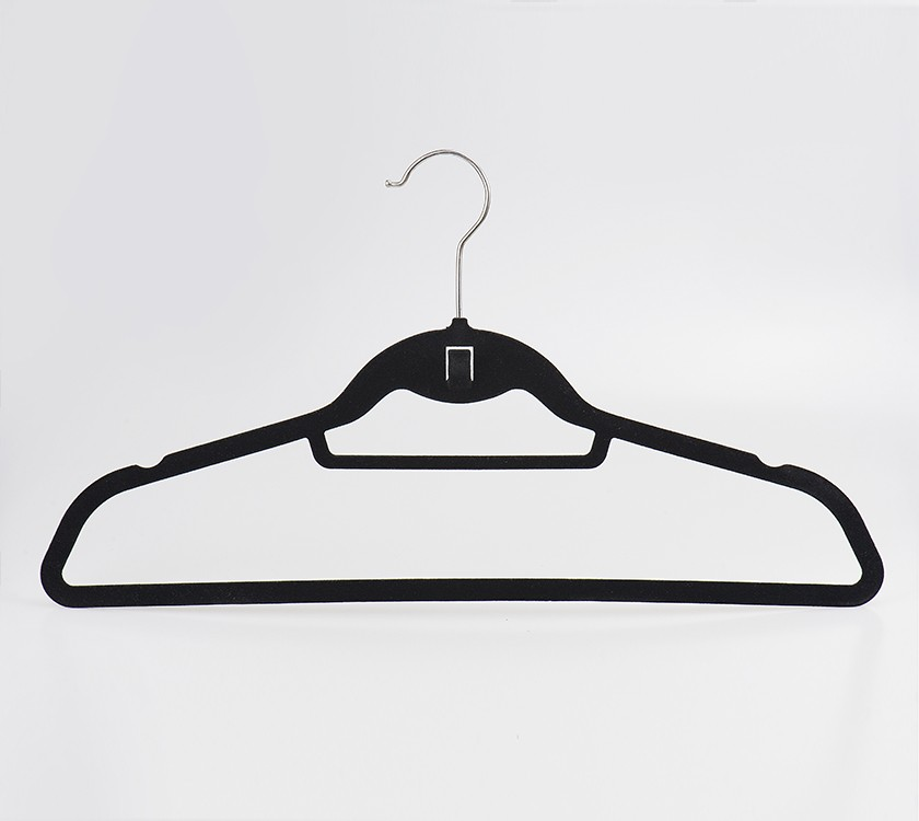 Wholesale Economic Anti Slip Velvet Dress Hanger
