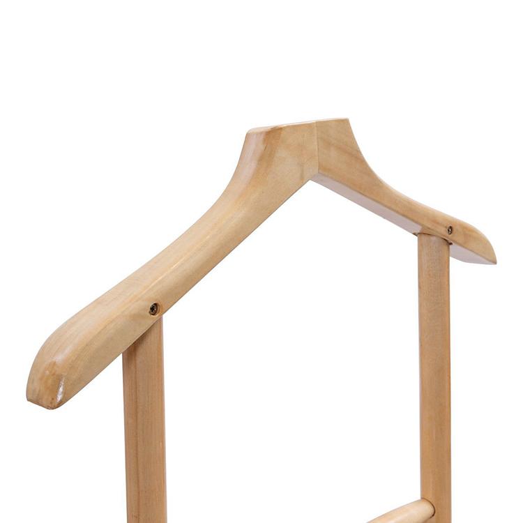 madeira cabide de suporte