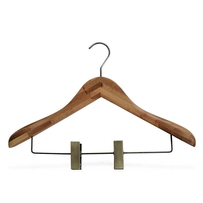 Extra Wide Should Bamboo Coat Hanger