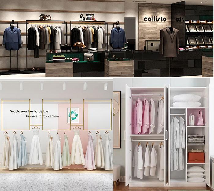 El mercado de ropa