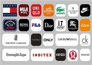 cooperação vestuário de marca
