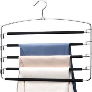 Wholesale Function Strong Metal Foam Pants Hanger