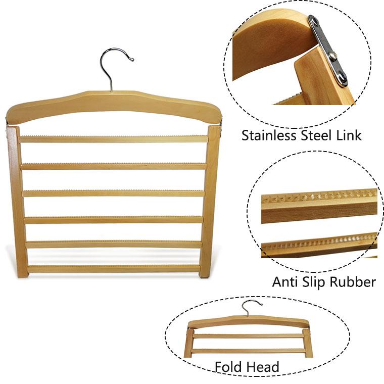 luxury wooden hanger