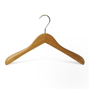 E Friendly Luxury Bamboo Coat Clothes Hangers