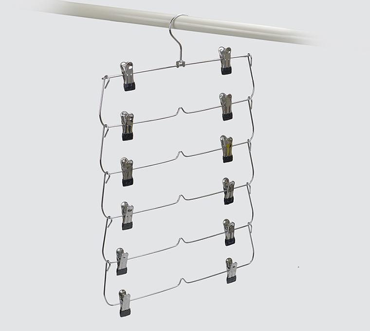 cabide de calça de metal