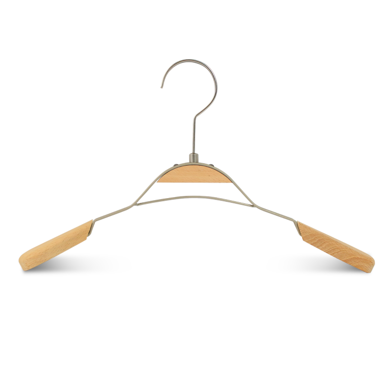 Supply Custome Luxury Wooden Garment Clothes Hanger