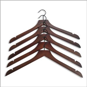 Disponibile Appendiabiti in legno per esposizione di indumenti