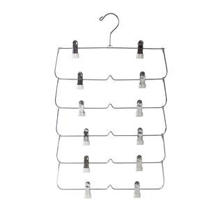 Wholesale Amazon Supermarket Metal Multifunctional Clothes Hanger