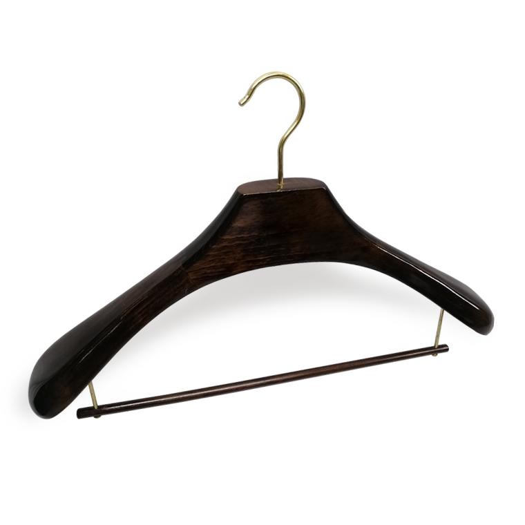 Custom Luxury Brand Wood Suit Hanger Wood For Cloth Manufacturers, Custom Luxury Brand Wood Suit Hanger Wood For Cloth Factory, Supply Custom Luxury Brand Wood Suit Hanger Wood For Cloth