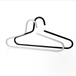 Strong Heavy Metal Clothes Hangers with Open Hook