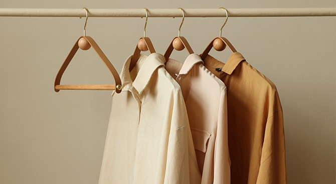 Sustainable development of clothing hangers