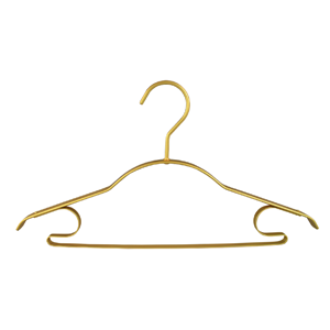 Gold Thick Wide Shoulder Metal Clothes Hangers