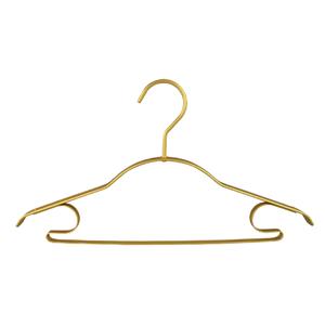 Appendiabiti in metallo dorato a spalla larga spessa