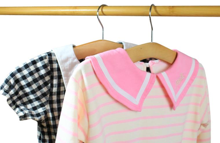 perchas de ropa cortas