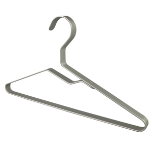 Supply Luxury Wide Shoulder Thick Metal Suit Hanger