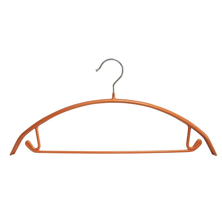 Tiết kiệm không gian Móc treo quần áo PVC kim loại nặng đa chức năng