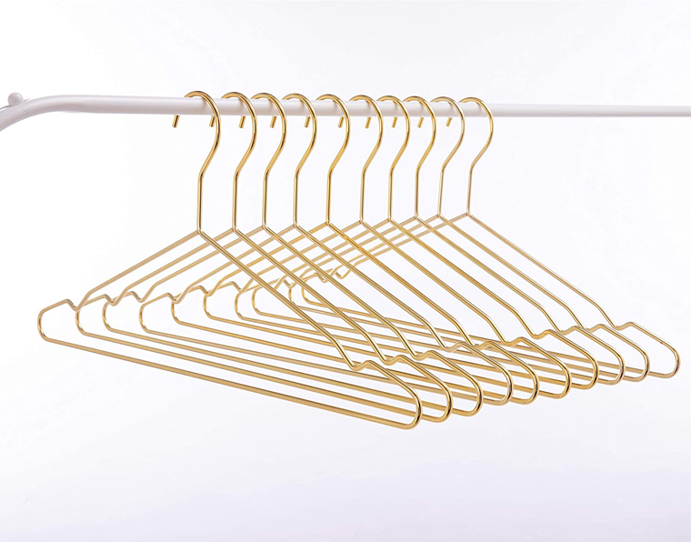 Gold Metal clothes Hanger For Garment Display Manufacturers, Gold Metal clothes Hanger For Garment Display Factory, Supply Gold Metal clothes Hanger For Garment Display