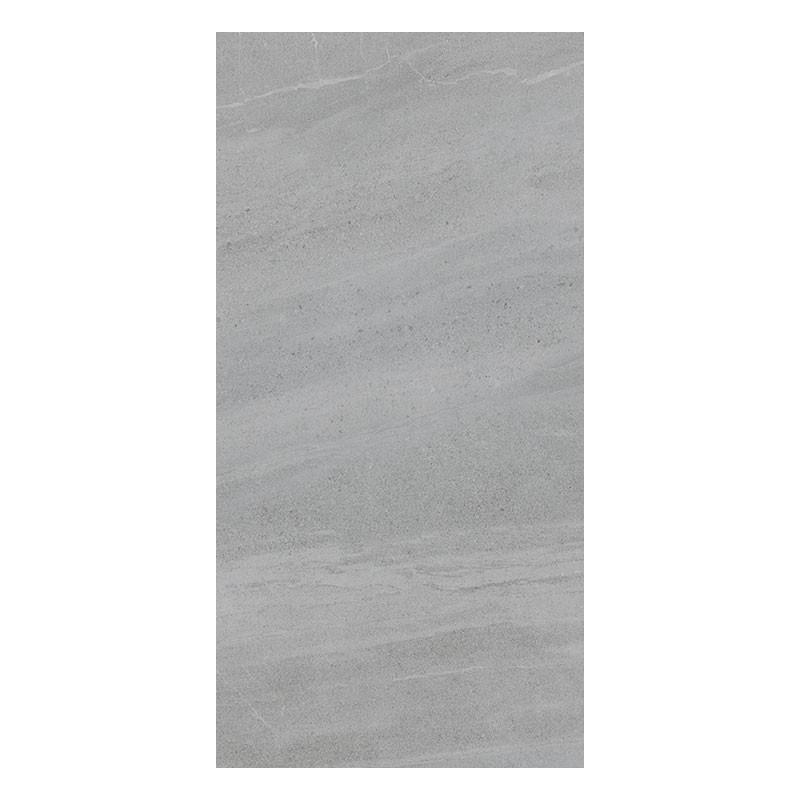 Thin Dark Grey Ceramic Tile Backsplash