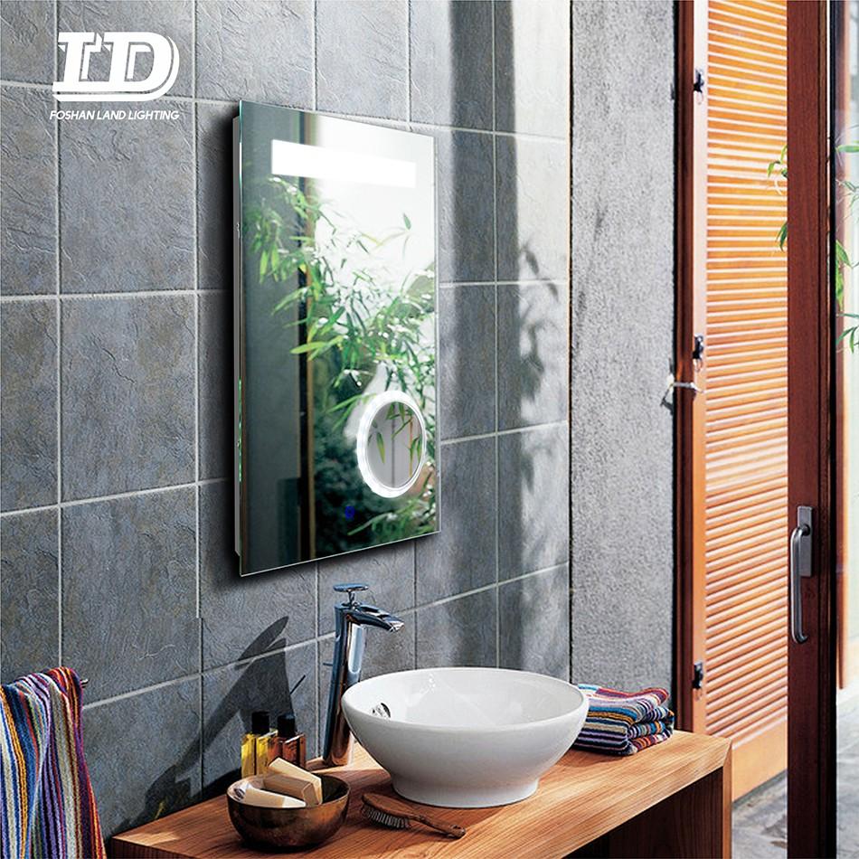Bathroom Wall Mirror Light Up Mirror 3X Magnifying Manufacturers, Bathroom Wall Mirror Light Up Mirror 3X Magnifying Factory, Supply Bathroom Wall Mirror Light Up Mirror 3X Magnifying