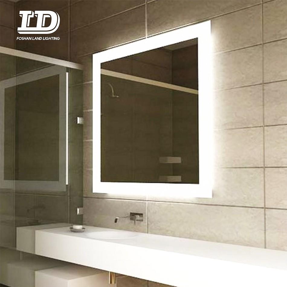 Anti Fog Led Bathroom Illuminated Mirror With Dimmable Led Light IP44 Manufacturers, Anti Fog Led Bathroom Illuminated Mirror With Dimmable Led Light IP44 Factory, Supply Anti Fog Led Bathroom Illuminated Mirror With Dimmable Led Light IP44