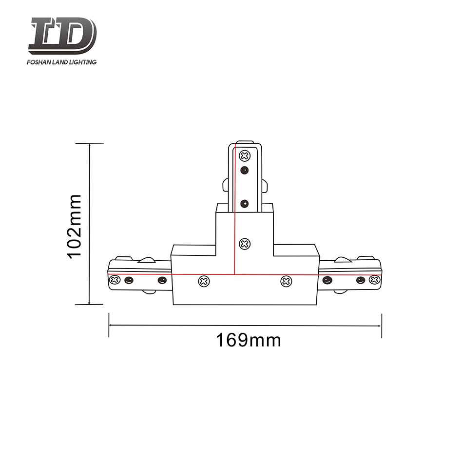 T Ype Led Track Light Connector 3wire Manufacturers, T Ype Led Track Light Connector 3wire Factory, Supply T Ype Led Track Light Connector 3wire