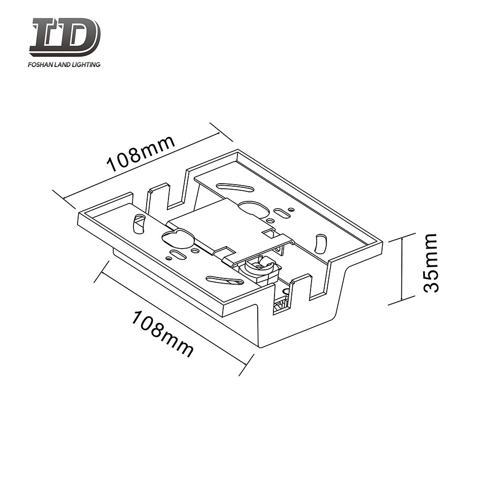 M Type Led Track Light Connector 3wire Manufacturers, M Type Led Track Light Connector 3wire Factory, Supply M Type Led Track Light Connector 3wire