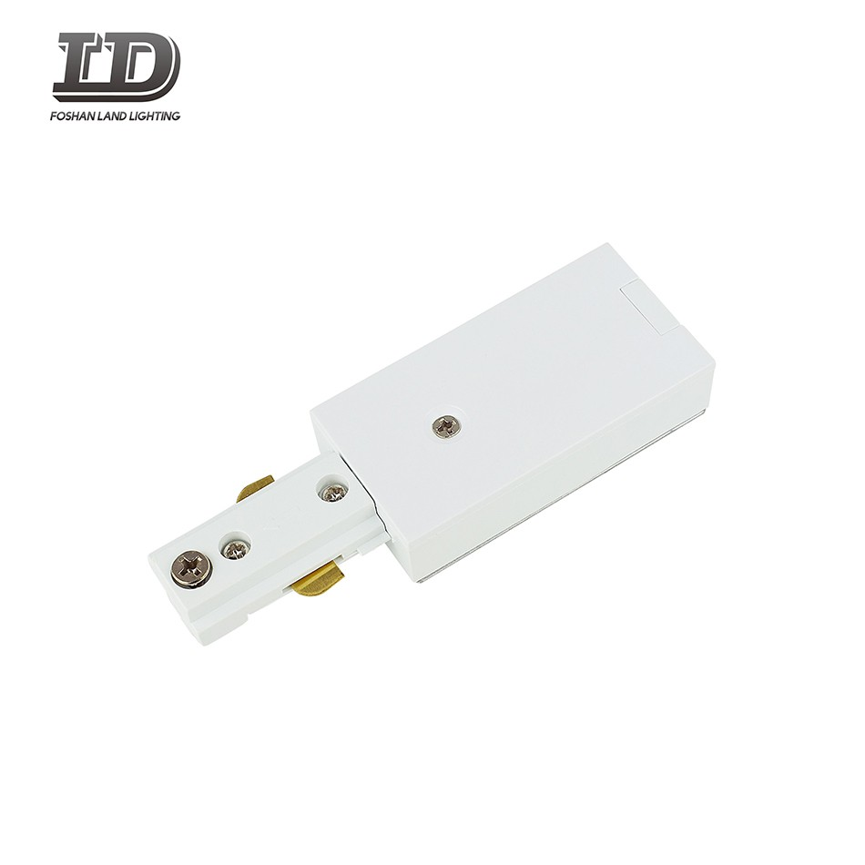 Live Led Track Light End Connector 3wire