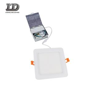 6 Inch Square Baffle LED Slim Panel Light
