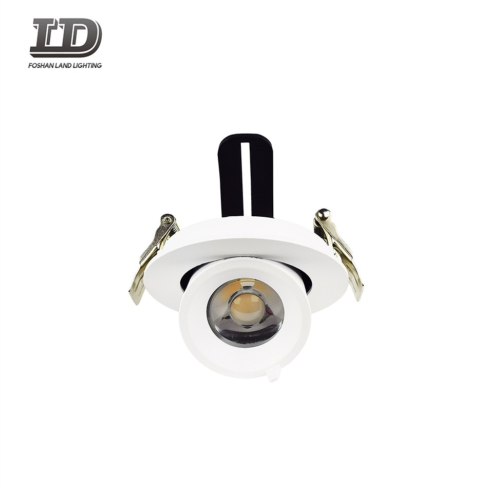 9w Recessed Led Downlight spot light With Junction Box gimbal ring Manufacturers, 9w Recessed Led Downlight spot light With Junction Box gimbal ring Factory, Supply 9w Recessed Led Downlight spot light With Junction Box gimbal ring