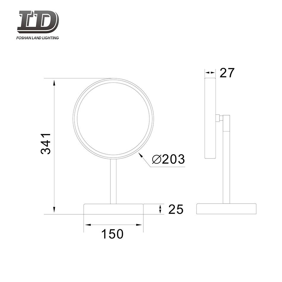 Make-up Mirror Light Table Top Mirror IP44 Manufacturers, Make-up Mirror Light Table Top Mirror IP44 Factory, Supply Make-up Mirror Light Table Top Mirror IP44