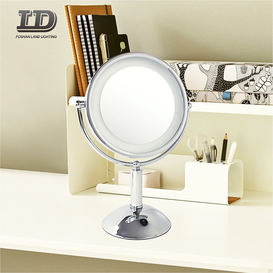 Cosmetic Mirror Light Round Makeup With 3x Magnifying Mirror IP44 Manufacturers, Cosmetic Mirror Light Round Makeup With 3x Magnifying Mirror IP44 Factory, Supply Cosmetic Mirror Light Round Makeup With 3x Magnifying Mirror IP44