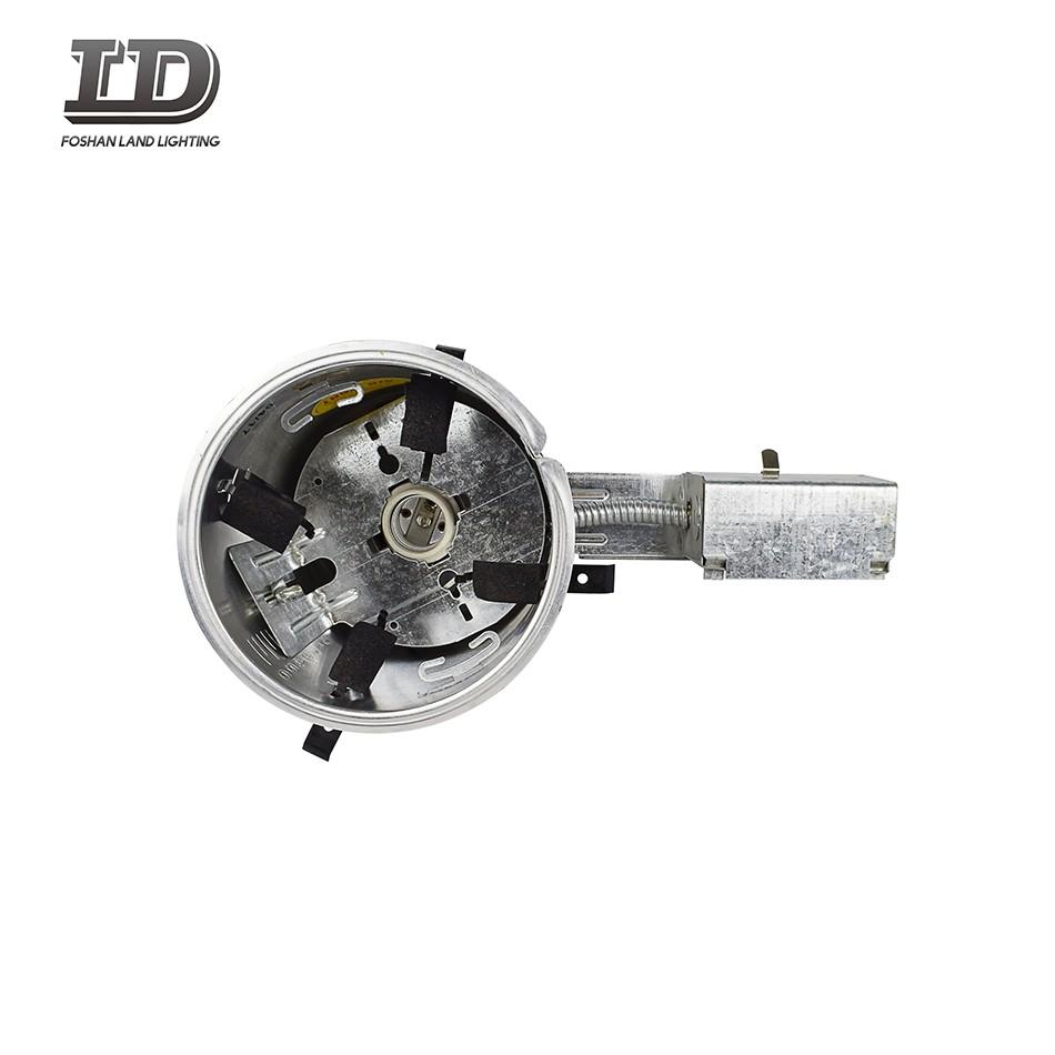 UL 6-дюймовый алюминиевый корпус встраиваемый светильник