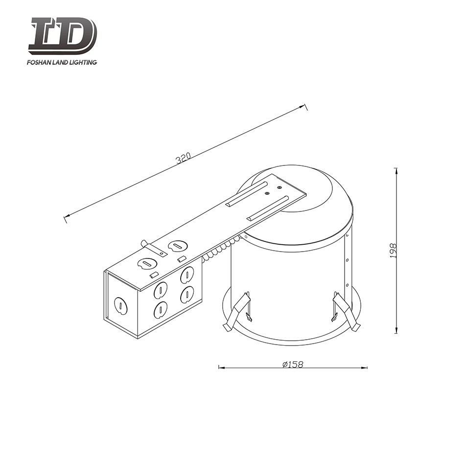 5 Inch Iron ICAT Remodel Recessed Housing Manufacturers, 5 Inch Iron ICAT Remodel Recessed Housing Factory, Supply 5 Inch Iron ICAT Remodel Recessed Housing