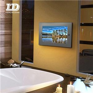 Frameless Waterproof Smart intellegent TV Mirror
