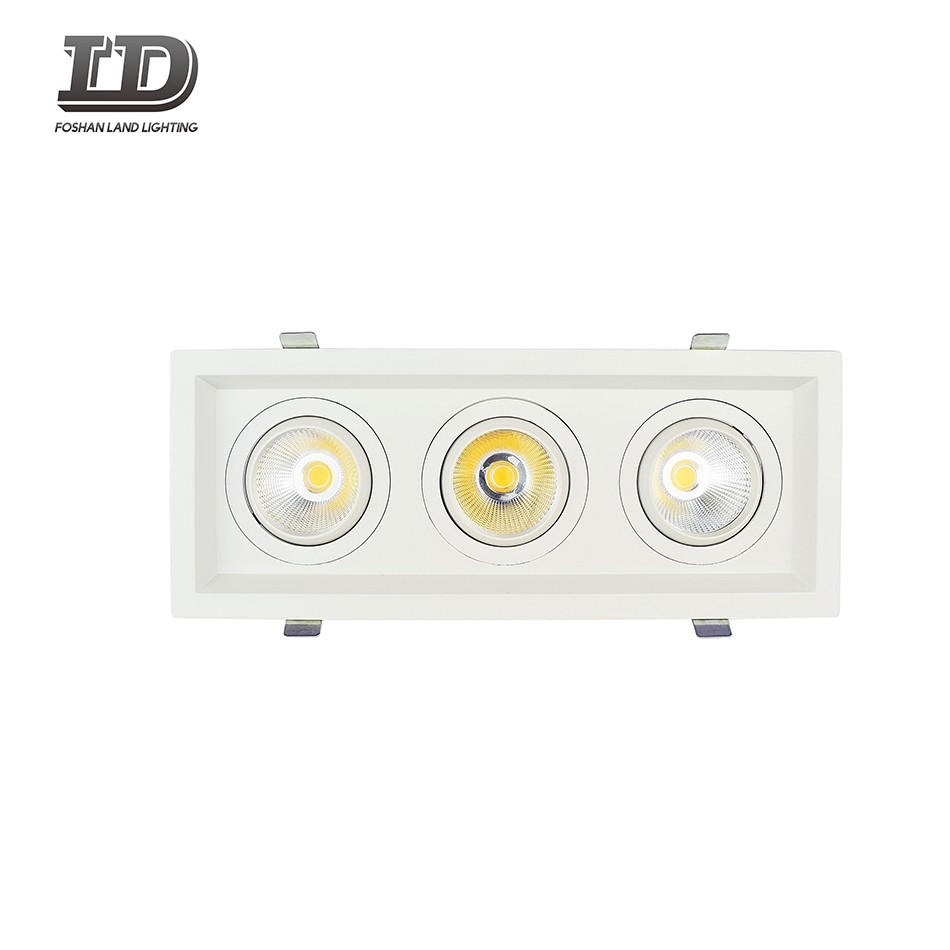 36w Cob commercial Led downlight Trim with multiple-heads Manufacturers, 36w Cob commercial Led downlight Trim with multiple-heads Factory, Supply 36w Cob commercial Led downlight Trim with multiple-heads