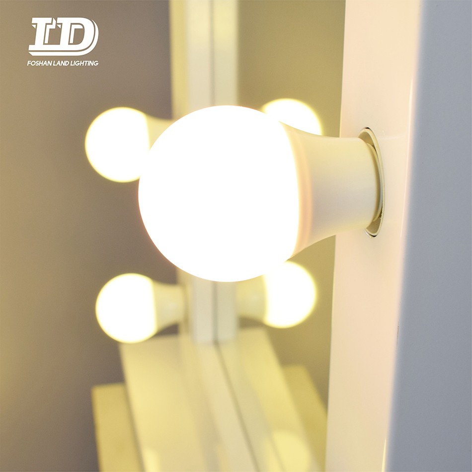 Hollywood Makeup Lighted Mirror With led bulbs UL/ETL certificate Manufacturers, Hollywood Makeup Lighted Mirror With led bulbs UL/ETL certificate Factory, Supply Hollywood Makeup Lighted Mirror With led bulbs UL/ETL certificate