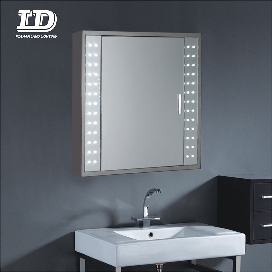 Wall Mounted Aluminum Vanity Medicine Bathroom Mirror Cabinet With Led Light Manufacturers, Wall Mounted Aluminum Vanity Medicine Bathroom Mirror Cabinet With Led Light Factory, Supply Wall Mounted Aluminum Vanity Medicine Bathroom Mirror Cabinet With Led Light