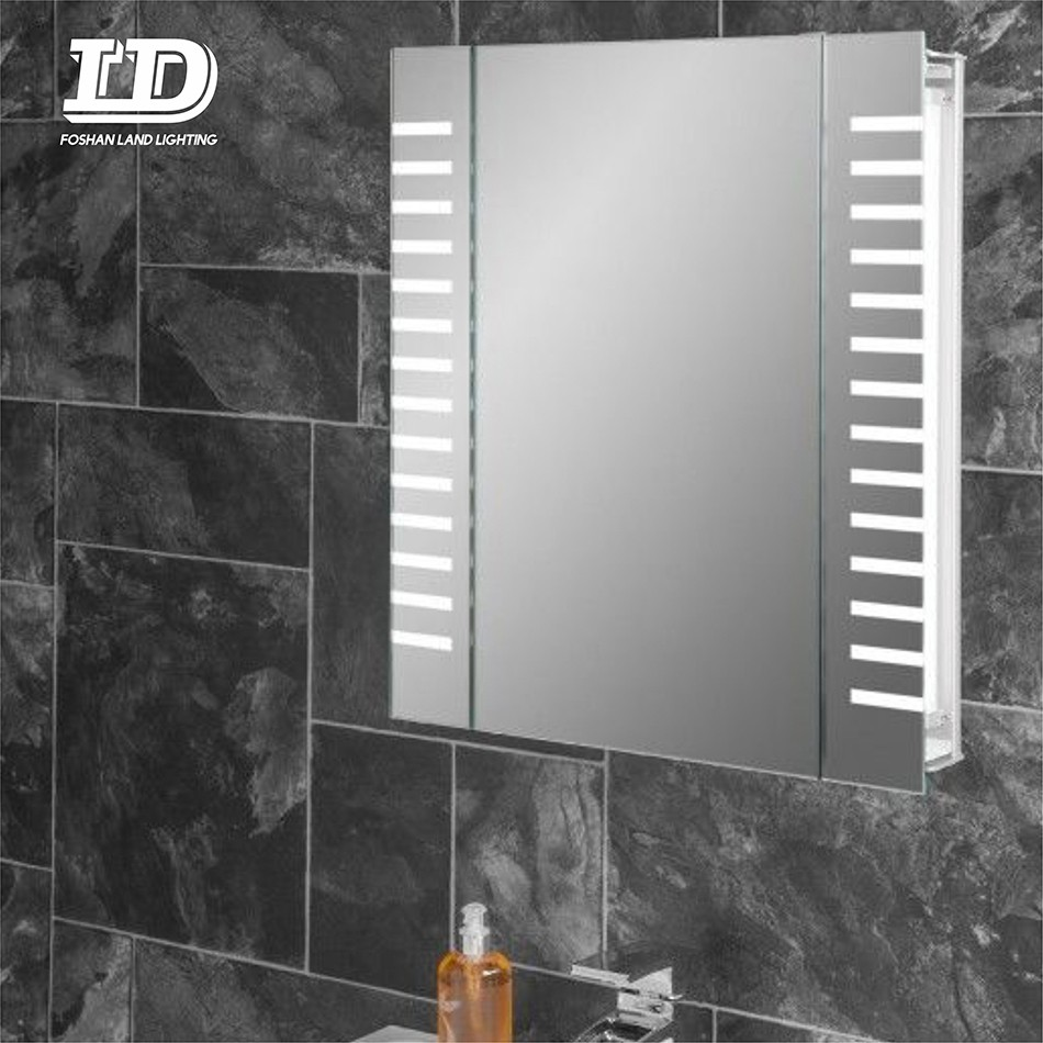 Luxury Customized Wall Mounted Lighted Bathroom Medicine Mirror Cabinet IP44 Manufacturers, Luxury Customized Wall Mounted Lighted Bathroom Medicine Mirror Cabinet IP44 Factory, Supply Luxury Customized Wall Mounted Lighted Bathroom Medicine Mirror Cabinet IP44
