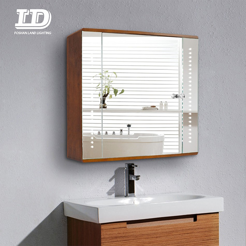 Water-proofing Aluminum Bathroom Led Mirror Cabinet Manufacturers, Water-proofing Aluminum Bathroom Led Mirror Cabinet Factory, Supply Water-proofing Aluminum Bathroom Led Mirror Cabinet