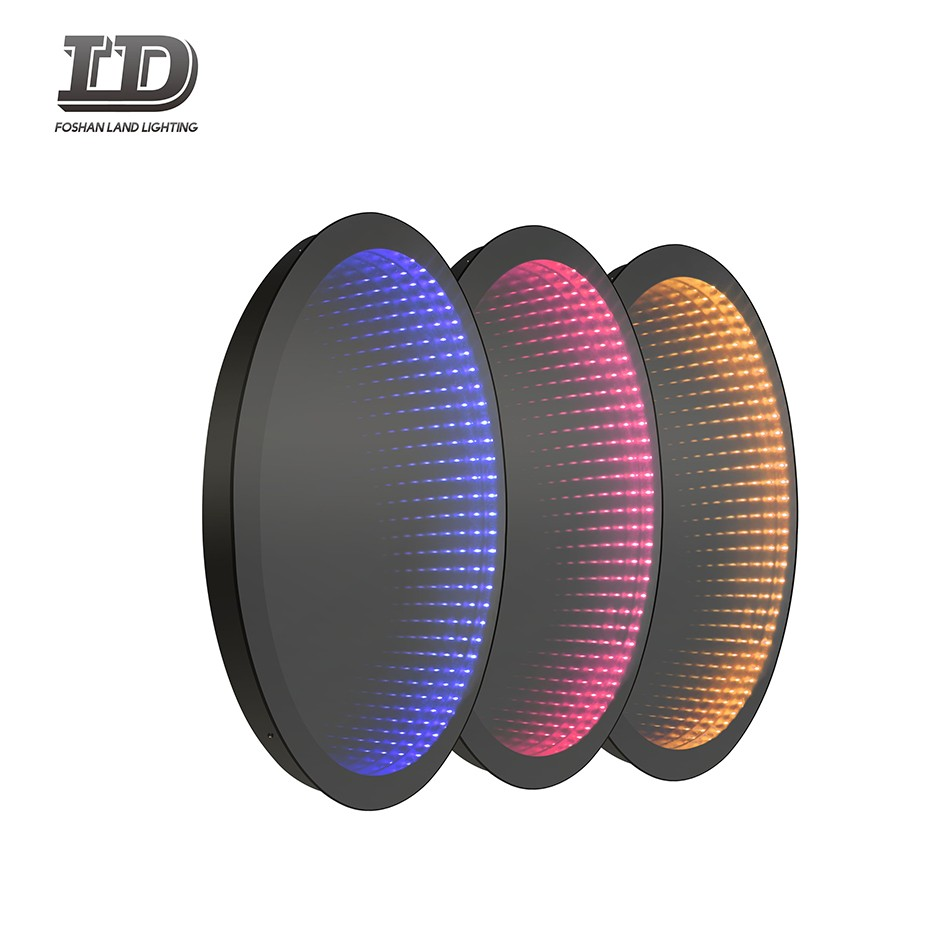 Decorative LED Infinity Mirror Bathroom With Button Switch Manufacturers, Decorative LED Infinity Mirror Bathroom With Button Switch Factory, Supply Decorative LED Infinity Mirror Bathroom With Button Switch