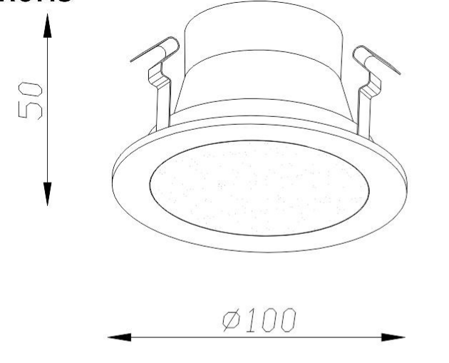 LED Surface Mounted Frameless Recessed Downlight Manufacturers, LED Surface Mounted Frameless Recessed Downlight Factory, Supply LED Surface Mounted Frameless Recessed Downlight