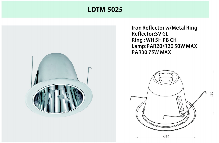 downlight retrofit kit