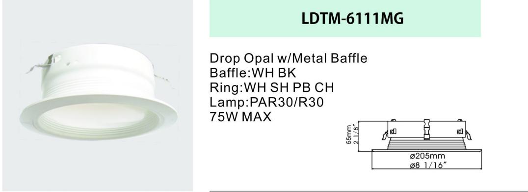 Drop Opal Metal Baffle
