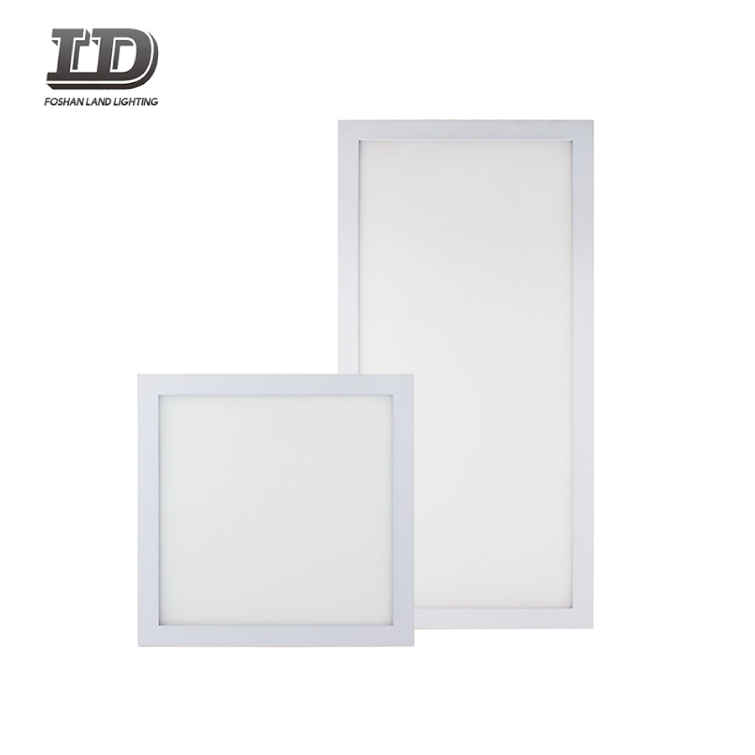 LED Flat Panel Light Ultra Thin Commercial and Residential Drop Ceiling Fixture Edge-Lit Dimmable