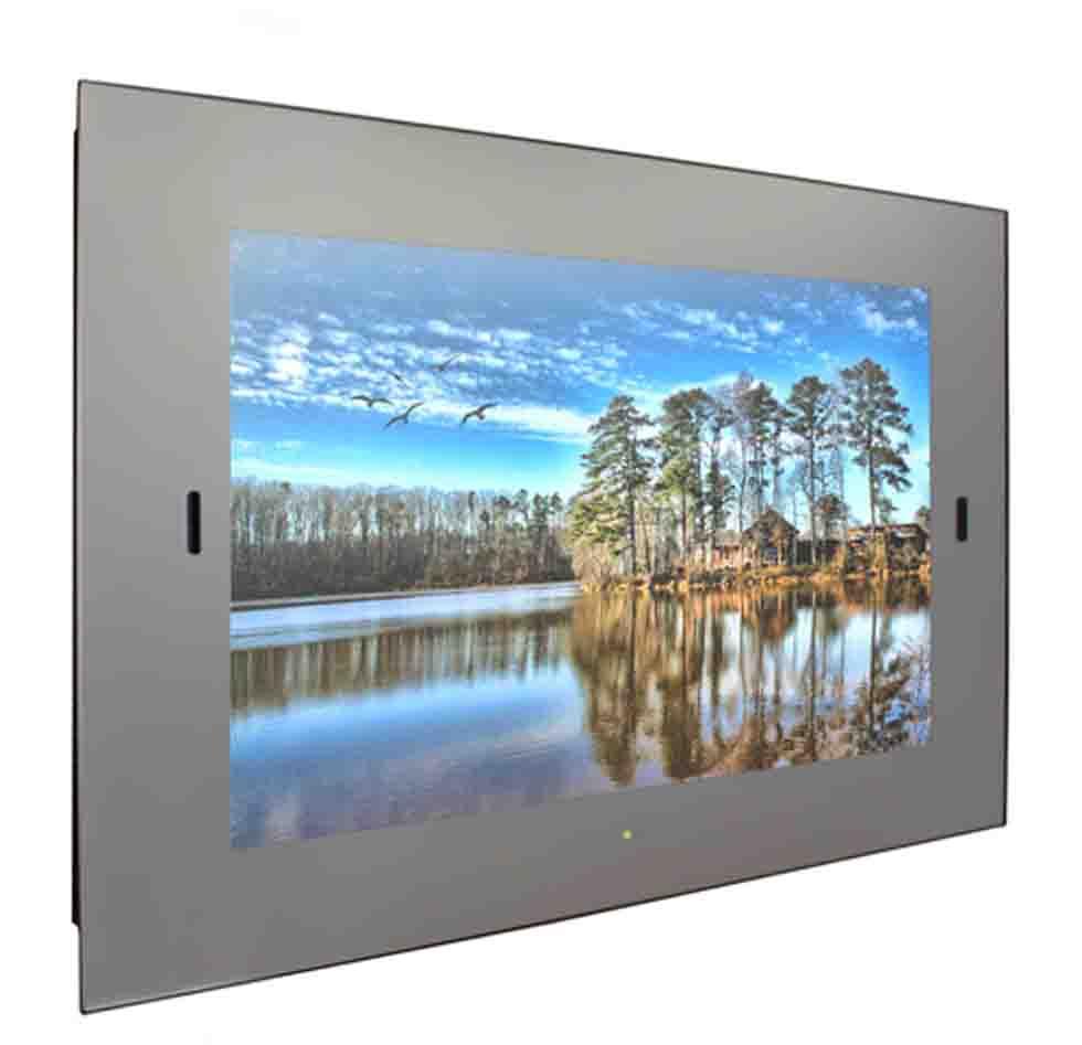Frameless Waterproof Smart Mirror TV