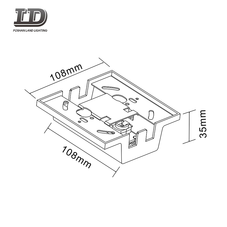 led track light connector