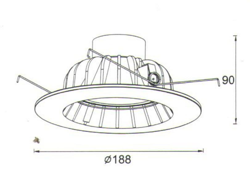 6 inch retrofit downlight