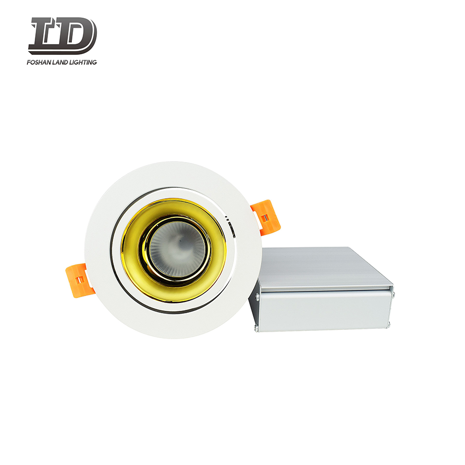 4 inch round led down light
