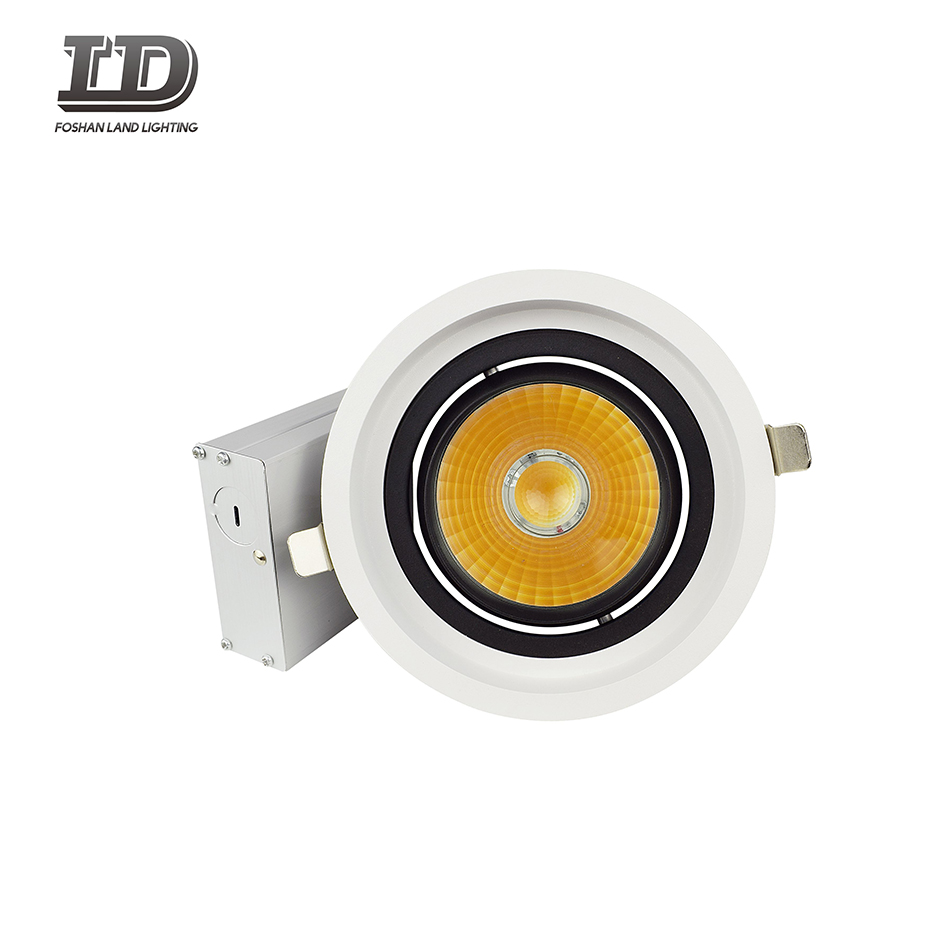 6 inch round led down light