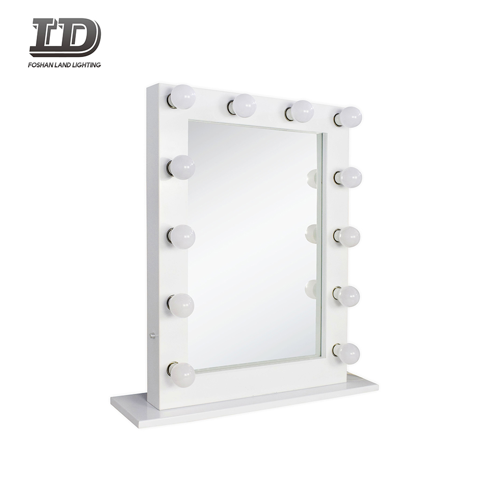 shaving mirror with led light